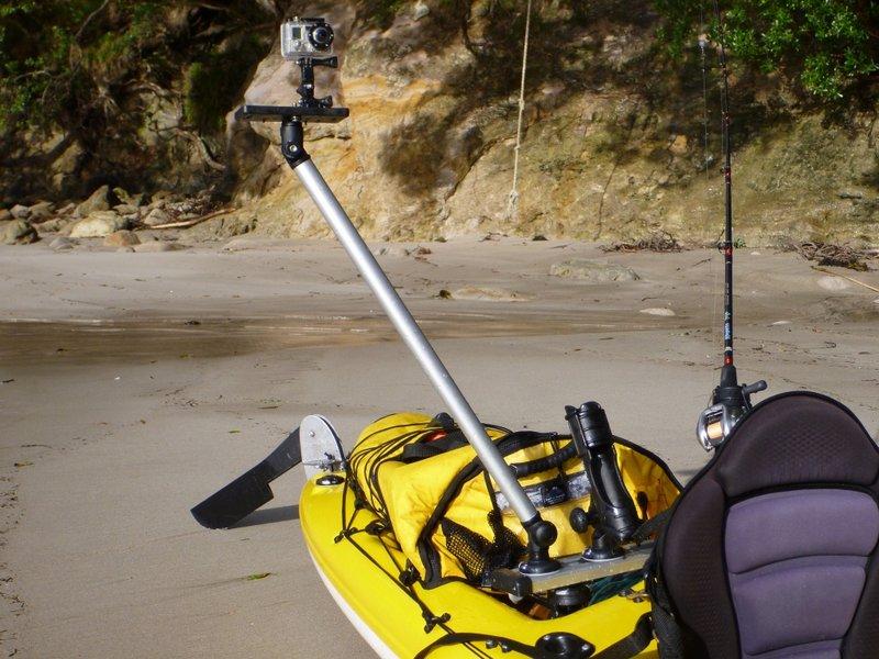Boreno topic diy kayak gopro mount for Gopro fishing mounts